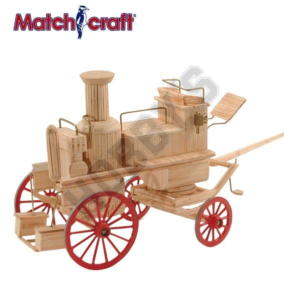 Hobby's Matchcraft - Horsedrawn Fire Engine Matchstick Kit # 11542