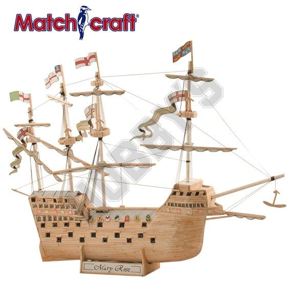 Hobby's Matchcraft - Mary Rose Matchstick Kit # 11540