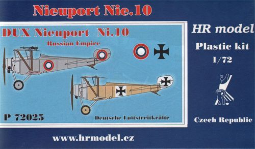 HR Model 1/72 DUX Nieuport Ni.10 # P72025