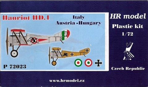 HR Model 1/72 Hanriot HD. 1 # P72023