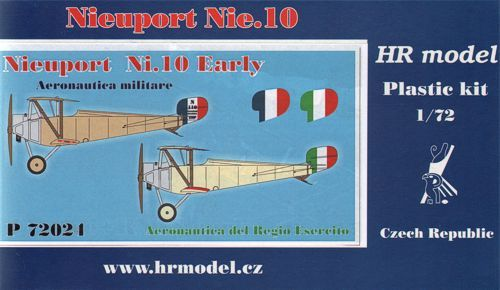 HR Model 1/72 Nieuport Ni.10 Early # P72024