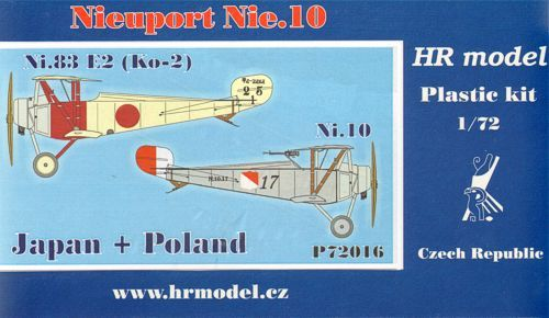 HR Model 1/72 Nieuport Nie. 10 Japan & Poland # P72016