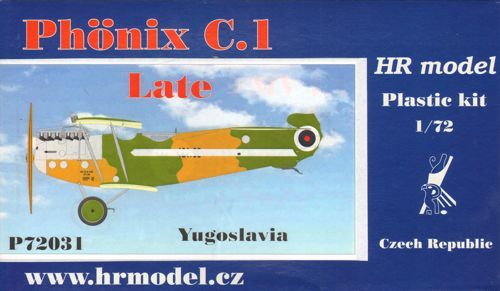 HR Model 1/72 Phonix C.I late (Yugoslavia) # P72031