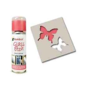 Humbrol 150ml Glass Etch Spray Red # AD7701