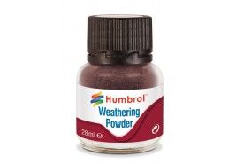 Humbrol 28ml Weathering Powder Dark Earth # AV0007