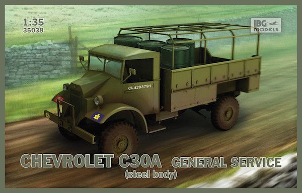 IBG 1/35 Chevrolet C30A General Service (Steel Body) # 35038