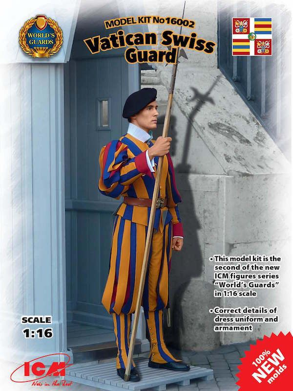 ICM 1/16 Vatican Swiss Guard # 16002