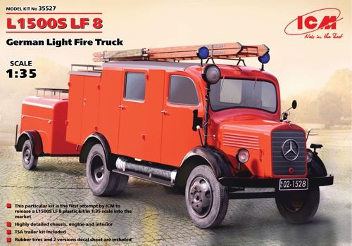 ICM 1/35 L1500S LF 8 German Light Fire Truck # 35527
