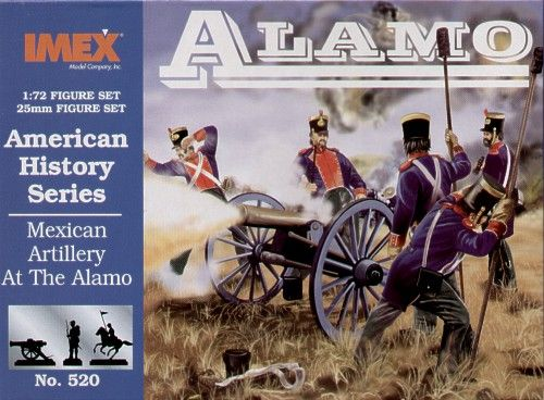 Imex 1/72 Mexican Artillery at the Alamo # 520