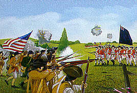 Imex 1/72 The Battle of Monmouth Courthouse Set # 609