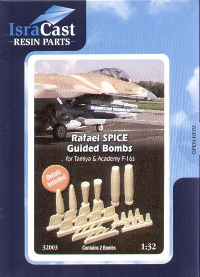 IsraDecal Studio 1/32 Rafael Spice Guided Bombs # 32003