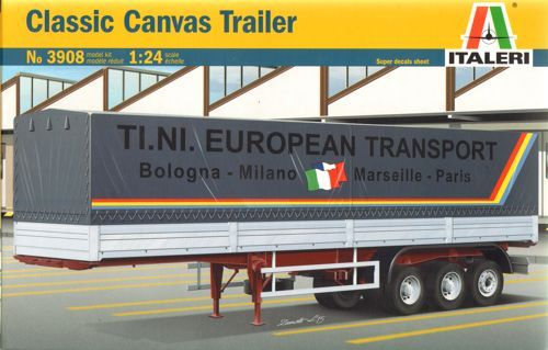 Italeri 1/24 Classic Canvas Trailer # 3908