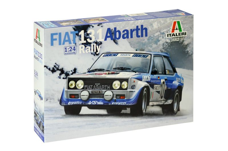 Italeri 1/24 Fiat 131 Abarth Rally # 3662