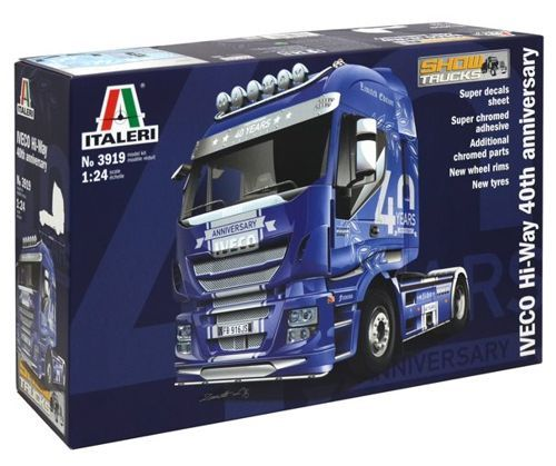 Italeri 1/24 IVECO Hi-Way 40th Anniversary # 3919