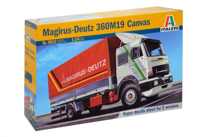 Italeri 1/24 Magirus-Deutz 360M19 Canvas # 3912