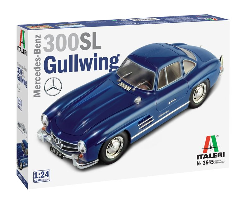 Italeri 1/24 Mercedes-Benz 300SL Gullwing # 3645
