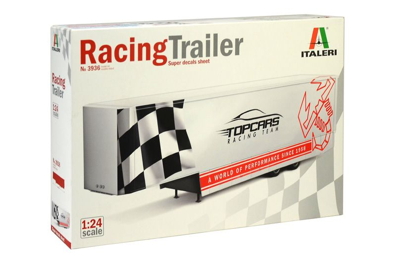 Italeri 1/24 Racing Trailer # 3936