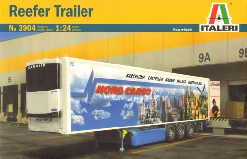 Italeri 1/24 Reefer Trailer # 3904