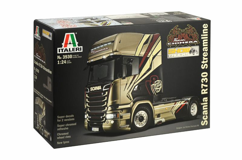 "Italeri 1/24 Scania R730 Streamline ""Team Chimera"" # 3930"