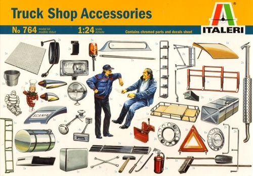 Italeri 1/24 Truck Shop Accessories # 764