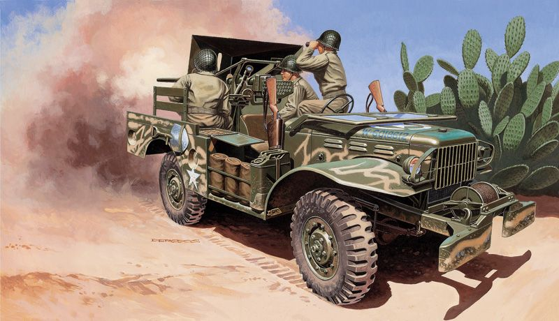 Italeri 1/35 M6 Gun Motor Carriage WC-55 # 6555