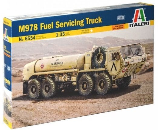 Italeri 1/35 M978 Fuel Servicing Truck # 6554