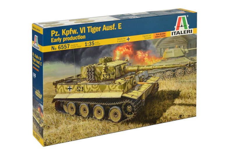 Italeri 1/35 Pz.Kpfw.VI Tiger Ausf. Early Production # 6557