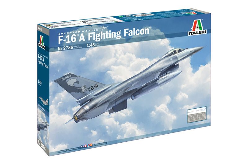 Italeri 1/48 Lockheed Martin F-16A Fighting Falcon # 2786