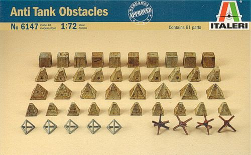 Italeri 1/72 Anti-Tank Obstacles # 6147