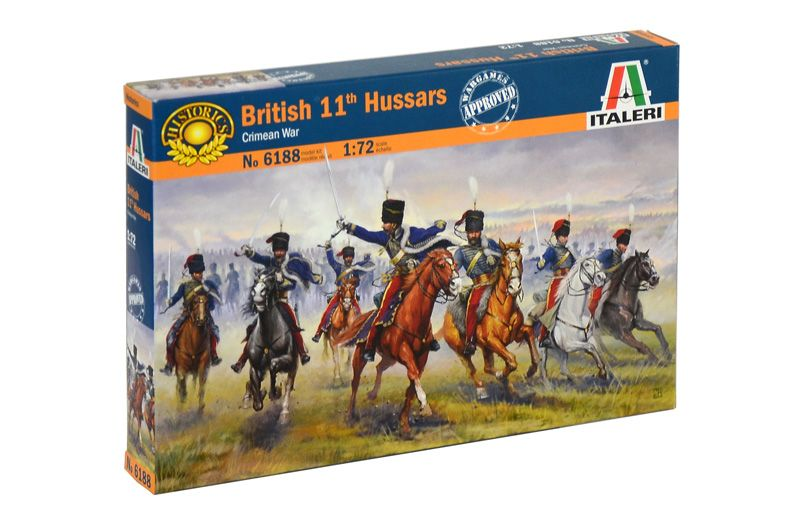 Italeri 1/72 British 11th Hussars (Crimean War) # 6188