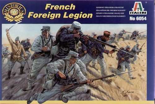 Italeri 1/72 French Foreign Legion # 6054