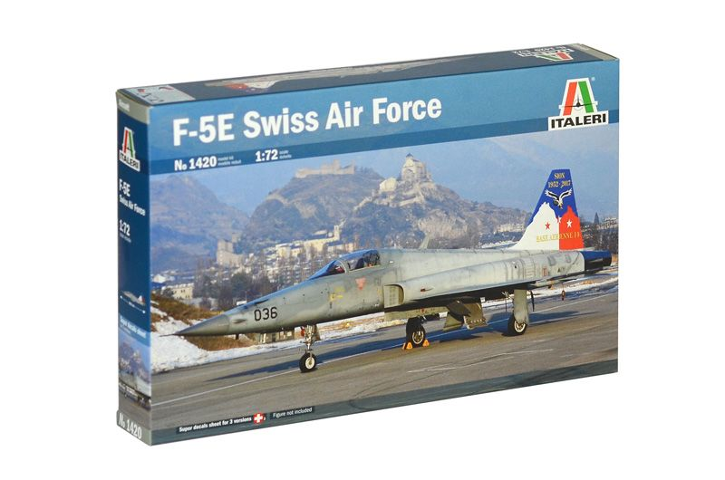 Italeri 1/72 Northrop F-5E Swiss Air Force # 1420