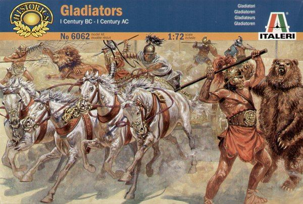 Italeri 1/72 Roman Gladiators # 6062
