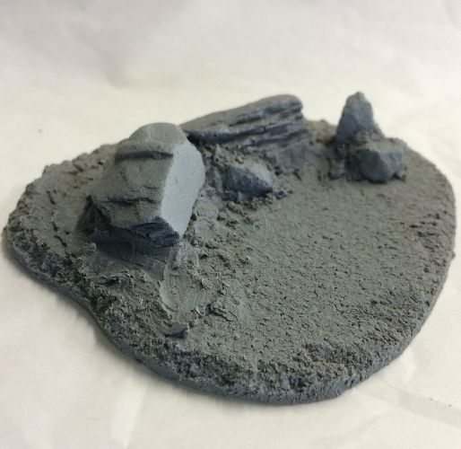 Javis Small Terrain Type 1 28mm or 1/72 # BZTS1