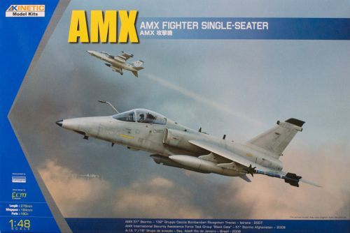 Kinetic 1/48 AMX Fighter Single-Seater # 48026
