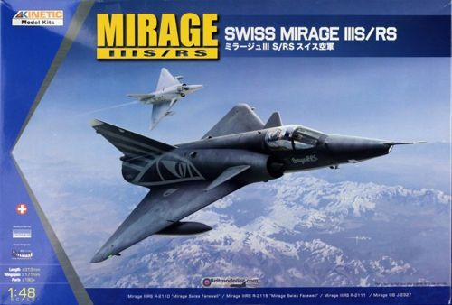 Kinetic 1/48 Dassault Mirage IIIS/RS # 48058