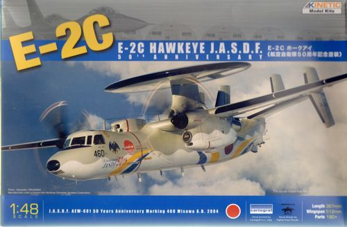 Kinetic 1/48 E-2C Hawkeye JASDF 50th Anniversary # 48014