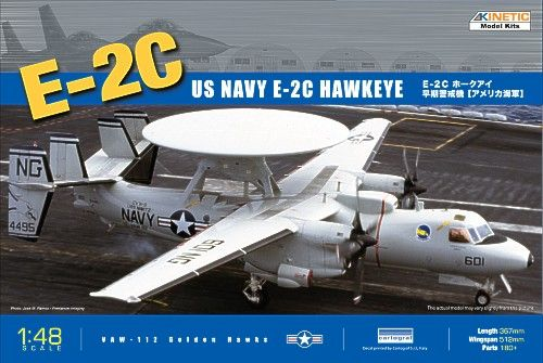 Kinetic 1/48 E-2C Hawkeye USA # 48013