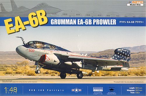 Kinetic 1/48 EA-6B Prowler Updated Version # 48022