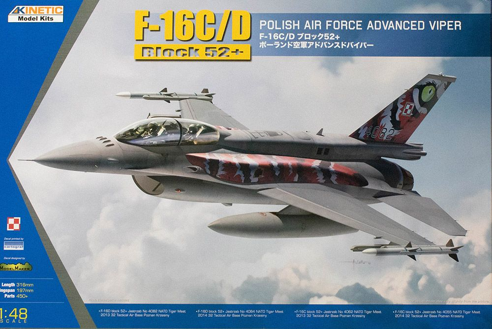 Kinetic 1/48 F-16C/D Block 52+ Polish Air Force Advanced Viper # 48076