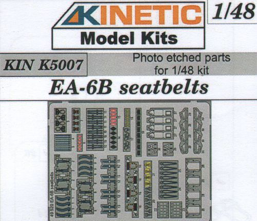 Kinetic 1/48 Grumman EA-6B Seatbelts # K5007