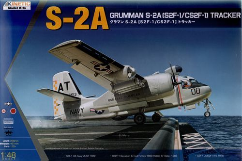 Kinetic 1/48 Grumman S-2A (S2F/CS2F-1) Tracker # 48039