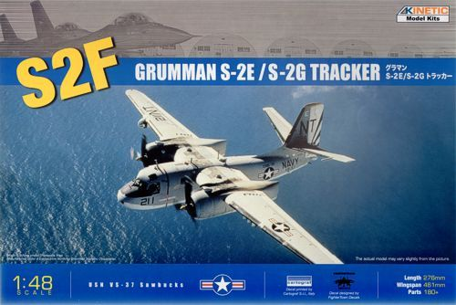 Kinetic 1/48 Grumman S-2E/S-2G Tracker # 48024