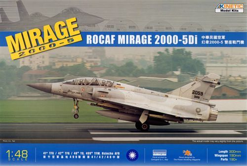Kinetic 1/48 Mirage 2000-5Di RoCAF # 48037