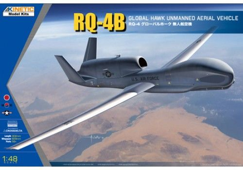 Kinetic 1/48 Northrop Grumman RQ-4B Global Hawk Unmanned Aerial Vehicle # 48084