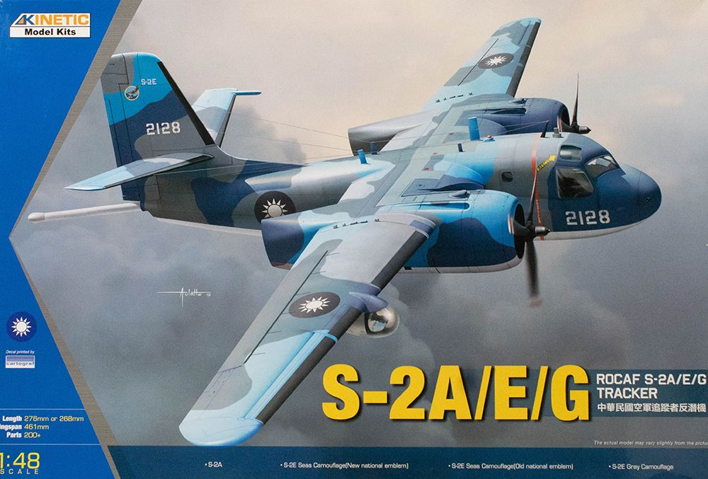 Kinetic 1/48 S-2A/E/G ROCAF Tracker # 48074