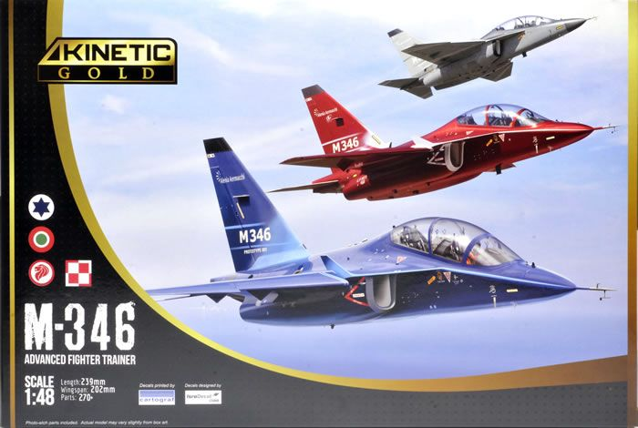 Kinetic Gold 1/48 M-346 Advanced Fighter Trainer # 48063
