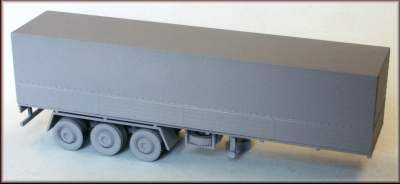 Knightwing 1/76 40ft 3 Axle Canvas Sided Trailer # H1