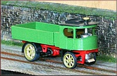 Knightwing 1/76 Atkinson Steam Wagon # H315