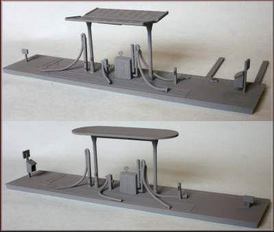 Knightwing 1/76 British Rail Diesel Refuelling Point # PM103